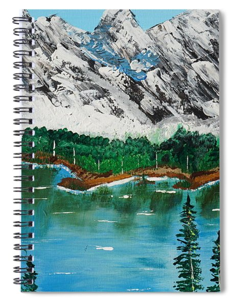 Tranquil Countryside  Spiral Notebook