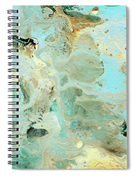 Tranquil Escape- Abstract Art By Linda Woods Spiral Notebook