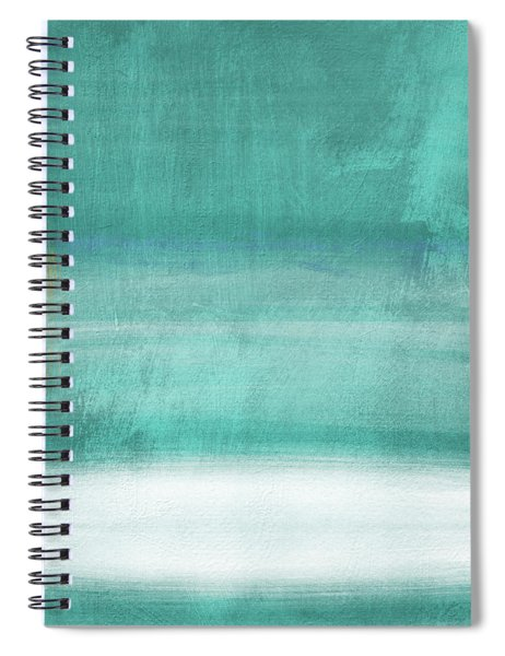 Tranquil Horizon- Art By Linda Woods Spiral Notebook
