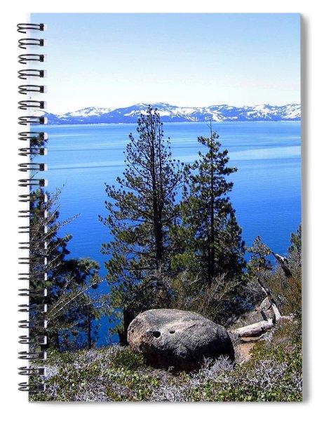 Tranquil Lake Tahoe Spiral Notebook