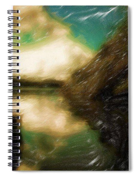 Tranquil Nature Awaits Spiral Notebook