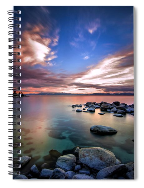 Tranquil Waters Spiral Notebook