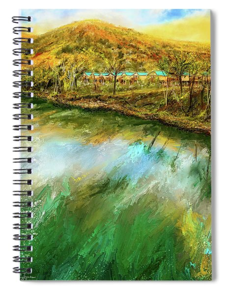 Tranquility Cottages - Anglers White River Resort Arkansas - Mountain View, Arkansas Spiral Notebook