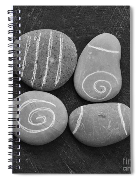 Tranquility Stones Spiral Notebook