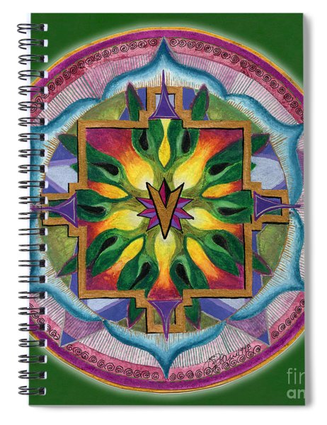 Transformation Mandala Spiral Notebook
