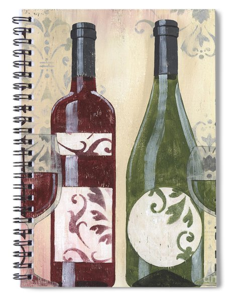 Transitional Wine 2 Spiral Notebook