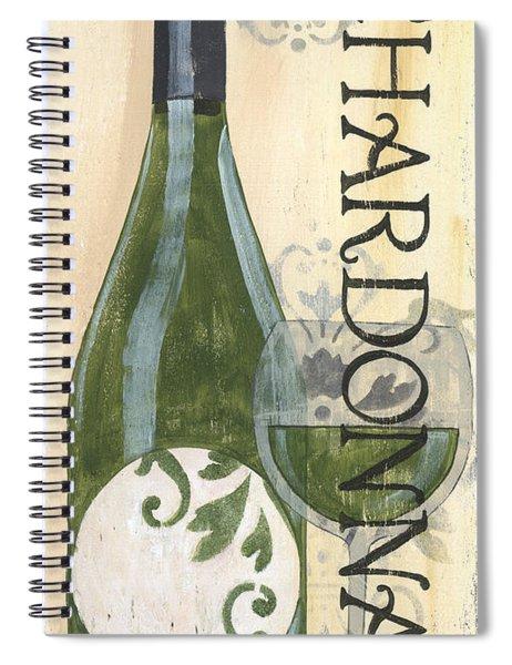 Transitional Wine Chardonnay Spiral Notebook