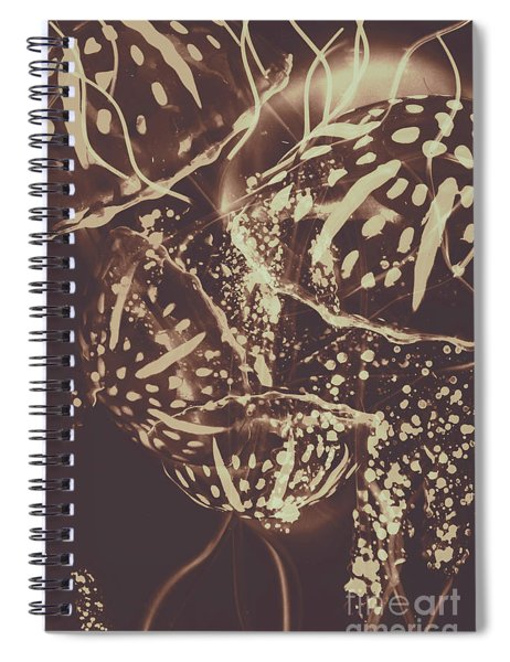 Translucent Abstraction Spiral Notebook