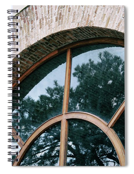 Trapped Tree Spiral Notebook