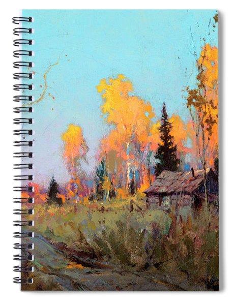Trapper's Cabin Spiral Notebook