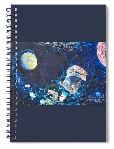 We Loved Earth At One Time - Yes We Did. Spiral Notebook