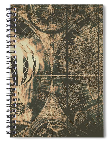 Travelling The Old World Spiral Notebook