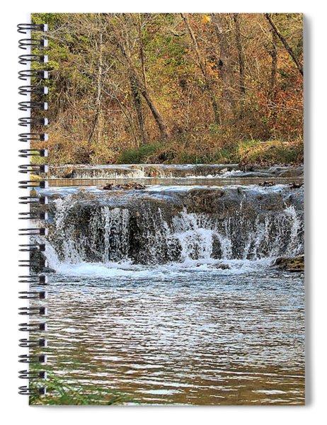 Travertine Creek Waterfall Spiral Notebook