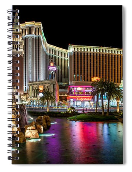Treasure Island View Spiral Notebook
