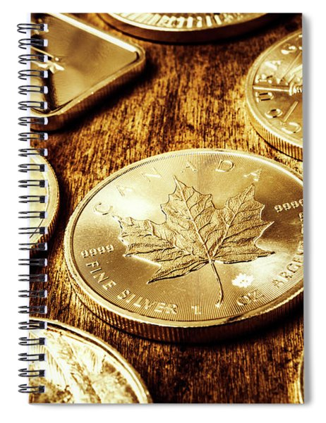 Treasures From The Bullion Vault Spiral Notebook