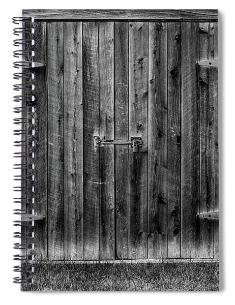 Spiral Notebook featuring the photograph Treat Farm 2 by Heather Kenward