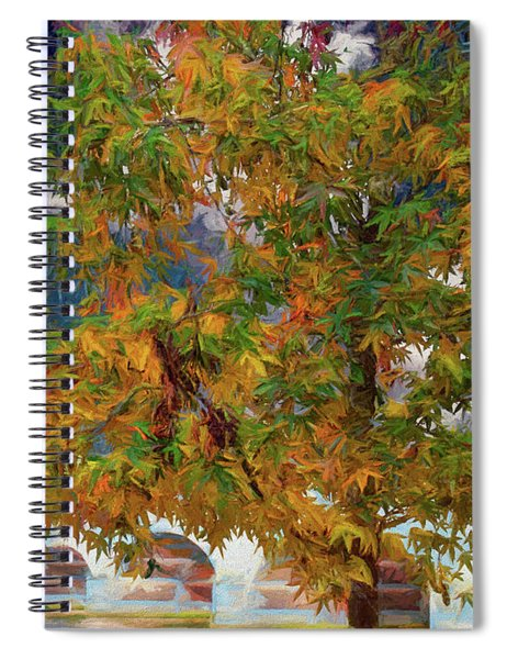 Tree By The Bridge Spiral Notebook
