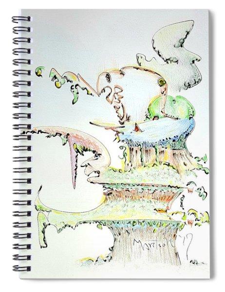 Tree House Condo Man Spiral Notebook