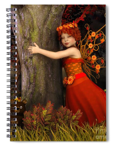 Tree Hug Spiral Notebook