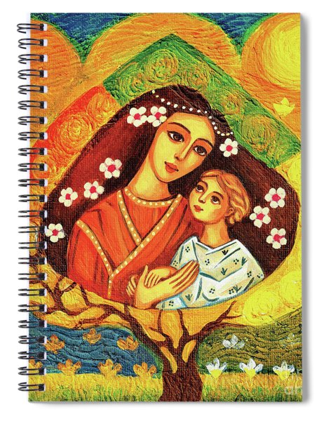 Tree Of Life II Spiral Notebook