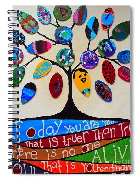 Tree Of Life - Rossmoor Rm24 Spiral Notebook