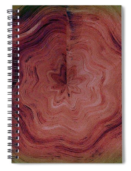 Tree Rings Spiral Notebook
