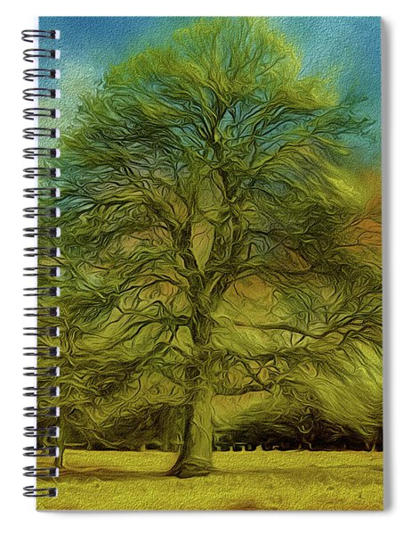 Tree Three Spiral Notebook