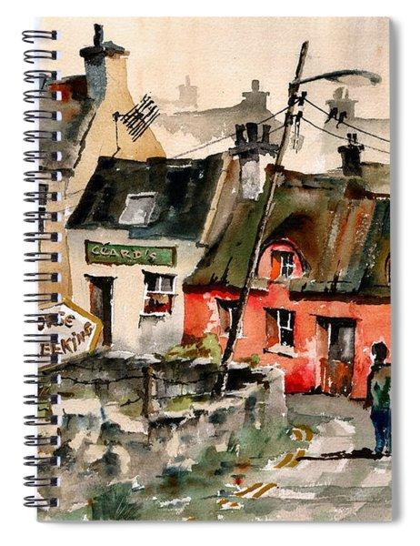 Treekiing In Doolin, Clare Spiral Notebook
