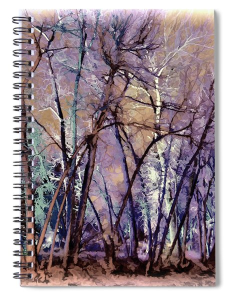 Trees Are Poems That The Earth Writes Upon The Sky Spiral Notebook