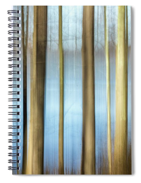Spiral Notebook featuring the photograph Trees by Rod Best