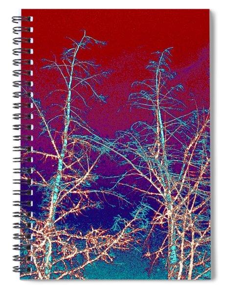 Treetops 4 Spiral Notebook