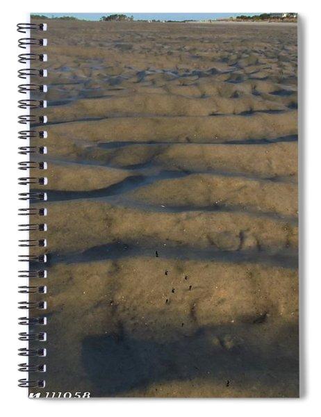 Trekking Alien Terrain Spiral Notebook