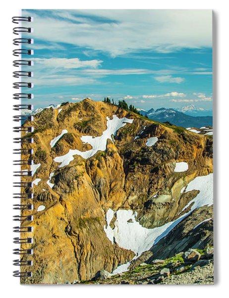 Trekking Into Camp Spiral Notebook