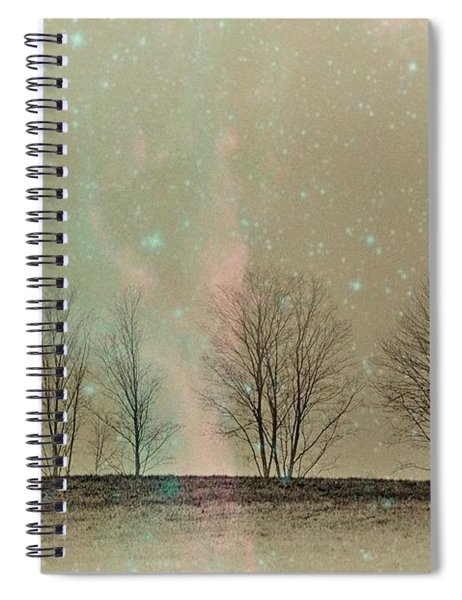 Tress In Starlight Spiral Notebook