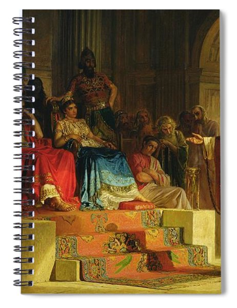 Trial Of The Apostle Paul Spiral Notebook