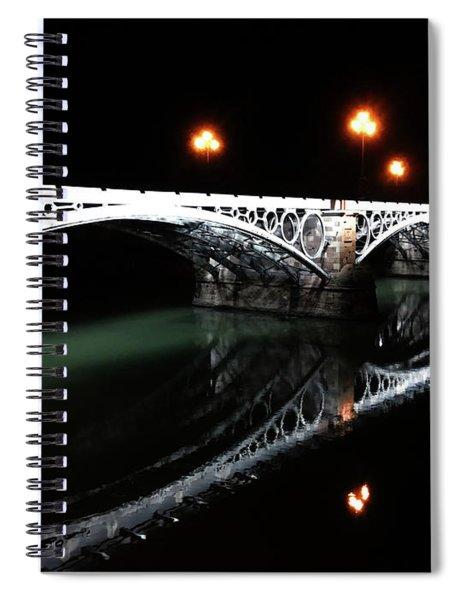 Triana Bridge Spiral Notebook