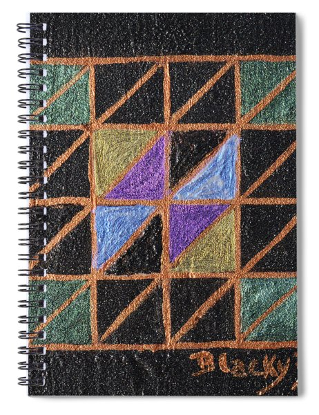 Triangulation Spiral Notebook