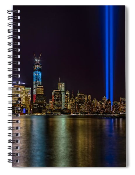 Tribute In Lights Memorial Spiral Notebook