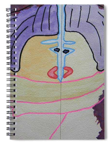 Tribute To C. Brancusi Spiral Notebook