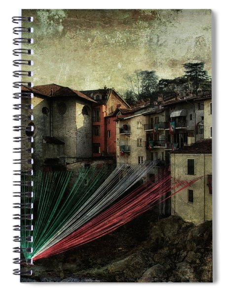 Tribute To Italy Spiral Notebook
