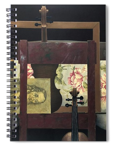 Tribute To Paganini Spiral Notebook