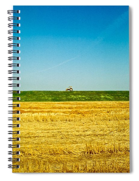 Tricolor With Tractor Spiral Notebook