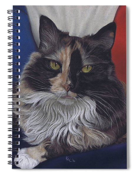 Tricolore Spiral Notebook
