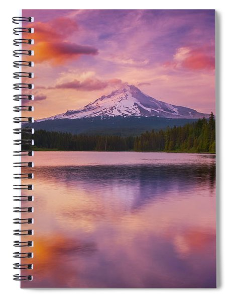 Trillium Lake Pastels Spiral Notebook
