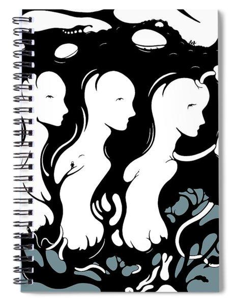 Trilogy Spiral Notebook