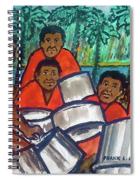 Trinidad Tobago Pan Band Spiral Notebook