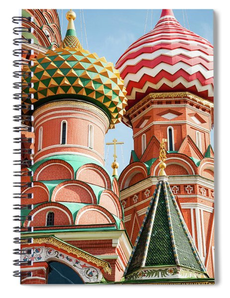 Trinity On The Moat Spiral Notebook