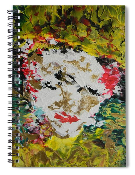 Trinity Panel Three Spiral Notebook