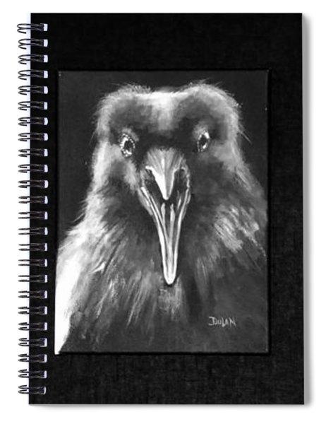 Trio Of Ravens Spiral Notebook