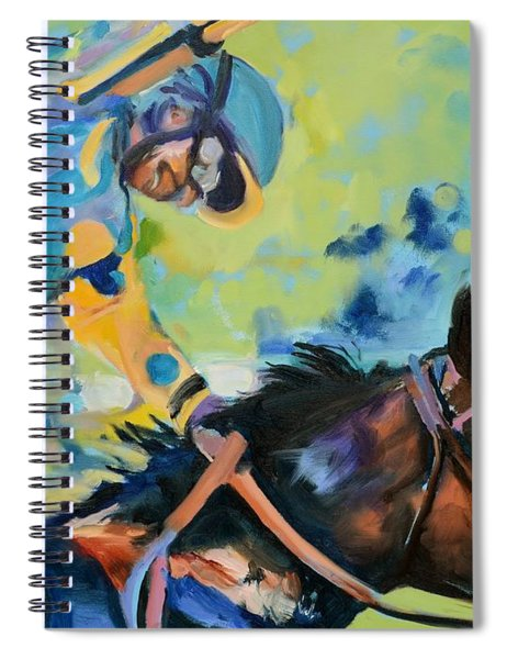 Triple Crown Champion American Pharoah Spiral Notebook